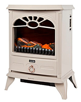Warmlite 2000W Compact Log Effect Stove