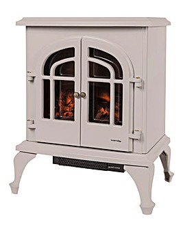Warmlite 2000W Log Effect Stove Barley