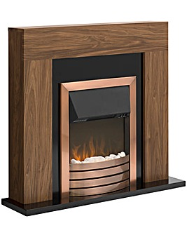 Warmlite Copper Fireplace Suite