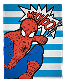 Ultimate Spider-Man Popart Polar Fleece