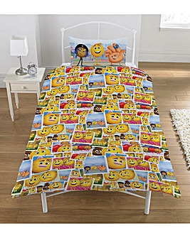 Emoji Express Yourself Panel Duvet Set