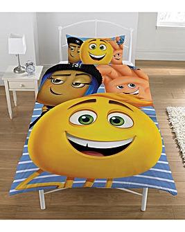 Emoji Express Yourself Panel Duvet Set