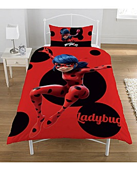 Miraculous Ladybug Panel Duvet Set