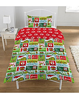 The Grinch Christmas Rotary Duvet Set