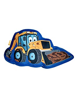 JCB Shaped Cushion