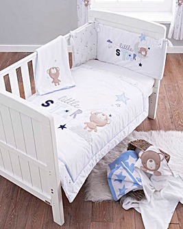 Little Star 3 Piece Cot Bed Set