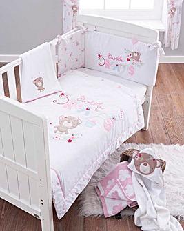Sweet Dreams 3 Piece Cot Bed Set