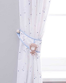 Little Star Curtain and Tie Backs