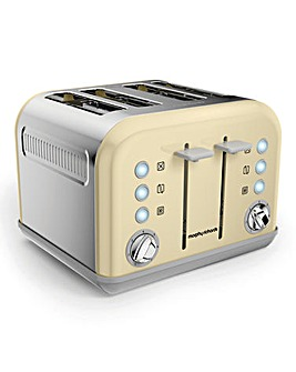 Morphy Richards Cream 4-Slice Toaster