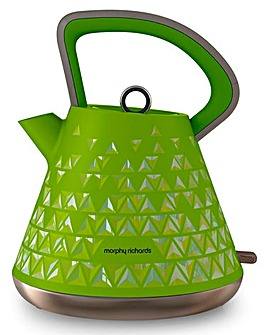 Morphy Richards Prism Lime Green Kettle