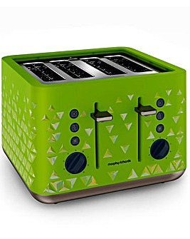 Morphy Richards Lime 4 Slice Toaster