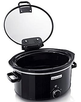 Crockpot 5.7Litre Hinged Lid Slow Cooker