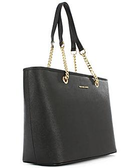 Michael Kors Black Saffiano Tote Bag