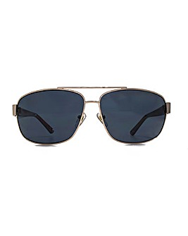 Levis Polarised Metal Square Sunglasses