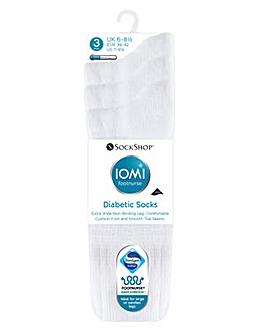3 Pair Cushion Foot Diabetic Socks