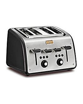 Tefal Maison 4 Slice Toaster - Black.