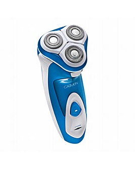 Carmen Triple Head Flex and Pivot Shaver