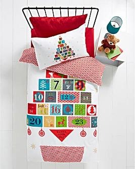 Christmas Advent Duvet Set