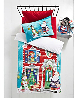 Waiting for Santa Duvet Set