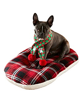 Cosy Christmas Night Pet Bed