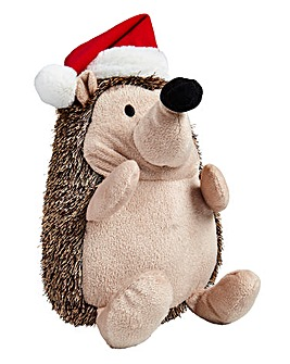 Christmas Hedgehog Dog Toy