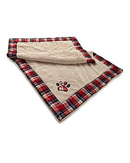 Luxury Large Tartan Snuggle Blanket