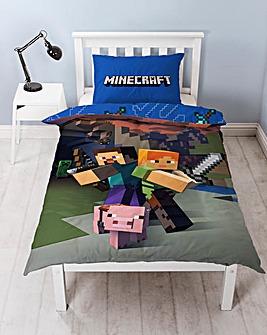 Minecraft Goodguys Duvet