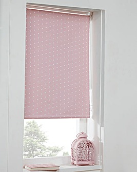 Polka Dot Blackout Blinds