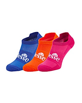 Ellesse 3 Pack Trainer Sock