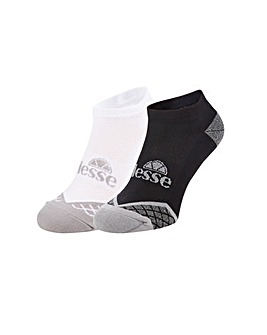 Ellesse 2 Pack Trainer Sock