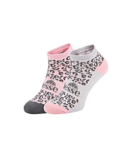 Ellesse 2 Pack Trainer Sock