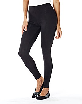 Short Stretch Jersey Leggings