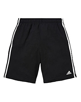 adidas Essential 3-Stripe Fleece Shorts