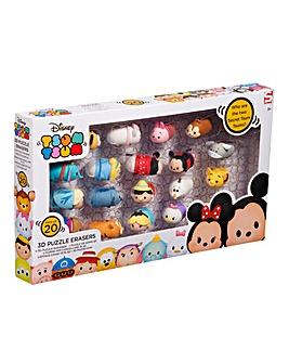 Disney Tsum Tsum 20pc Puzzle Erasers