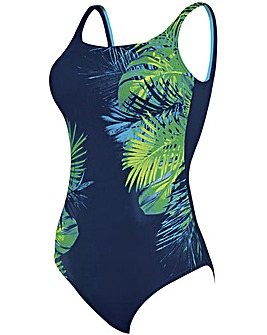 Zoggs Palm Springs Squareback Swimsuit