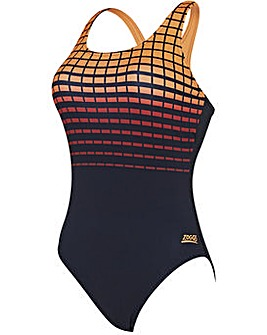 Zoggs Darwin Actionback Swimsuit