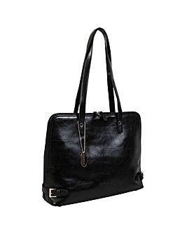 Daniele Donati Faux Leather Shoulder Bag
