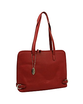 Daniele Donati Faux Leather Shoulder Bag