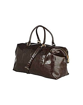 Go Explore Signature Weekend Bag - Brown