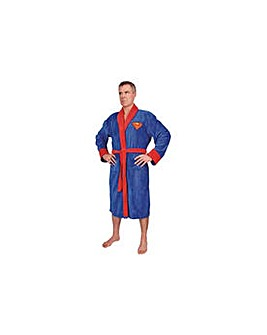 Superman Adult Fleece Robe.