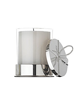 Vera Wang Love Knots Cov Candle On Base
