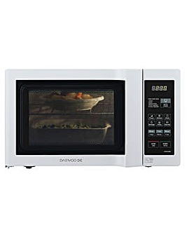 Daewoo 20Litre Duo-Plate White Microwave