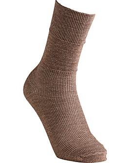 Extra Roomy Wool Socks