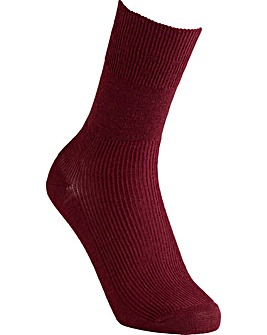 Extra Roomy Wool Socks