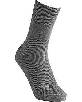 Extra Roomy Cotton Socks