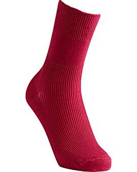 Extra Roomy Cotton Socks