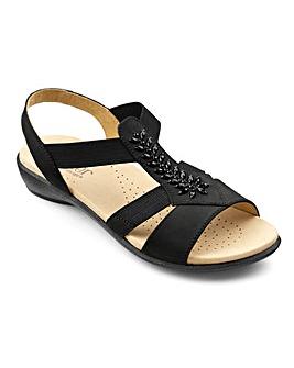 Hotter Beam Strap Sandal