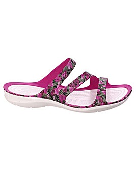 Crocs Swiftwater Graphic Ladies Sandal