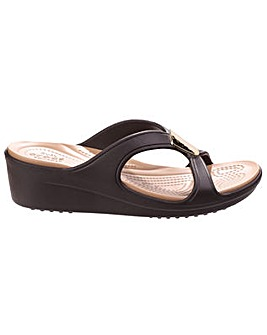 Crocs Sanrah Ladies Wedged Sandal