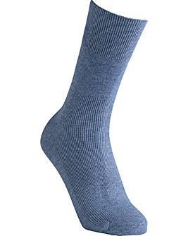 Extra Roomy Coolmax� Seam-Free Socks